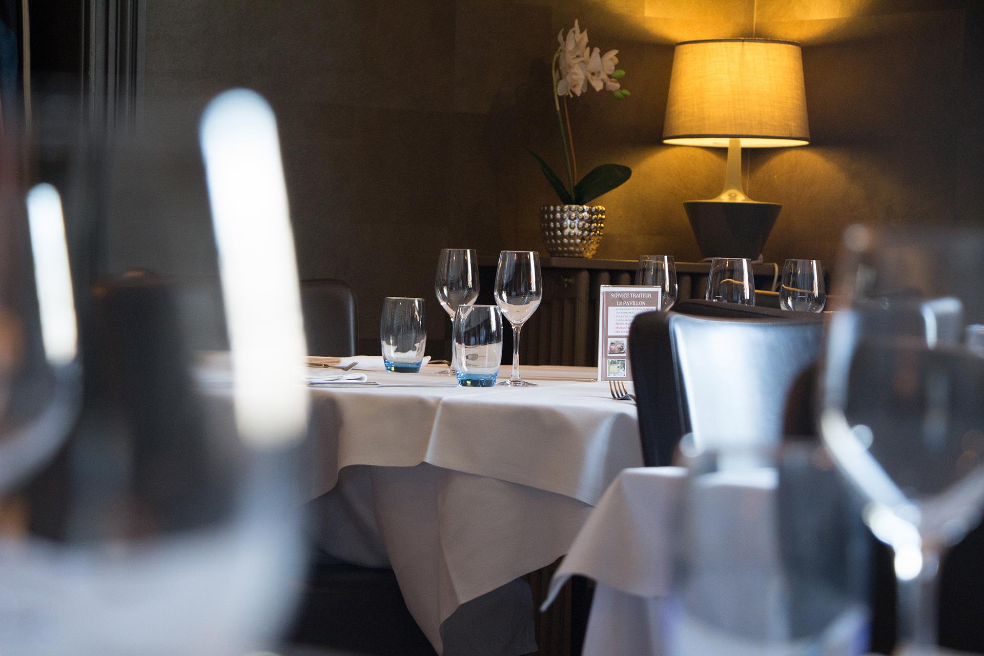 Salle Restaurant gastronomique à St Herblain près de Nantes